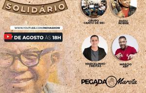 Live Samba Solidário homenageia o príncipe do samba Reinaldo