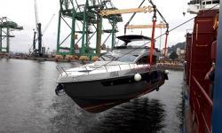 Movimentação de iate de 77 pés exige logística especial até o Caribe