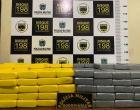 Polícia Militar Rodoviária apreende carregamento de cocaína avaliada em mais de 5 milhões de reais
