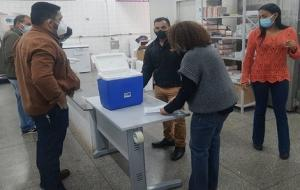 Secretaria de Estado de Saúde distribui aos municípios 97.500 doses da vacina da Astrazeneca