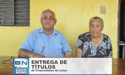 Pioneiro do Assentamento Rural Marcos Freire conta sua História.