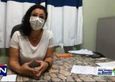 Déborah Maia - Fala sobre a Covid-19 e vacinação contra gripe .Dois Irmãos de Buriti