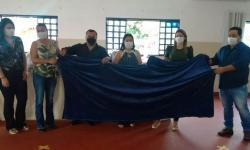 Cobertores entregues-Dois Irmão do Buriti