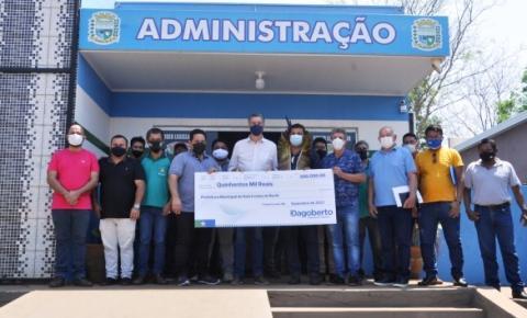 Deputado Federal Dagoberto Nogueira se fez presente ao Município de Dois Irmão do Buriti