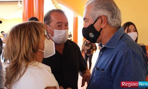 Reinaldo assina amanhã em Sidrolândia repasse de R$ 1,4 milhão para Prefeitura terminar acesso ao Frigorífico Balbinos
