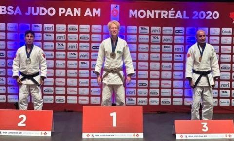 No Canadá, Luan Pimentel conquista o bicampeonato do Parapan-Americano de Judô