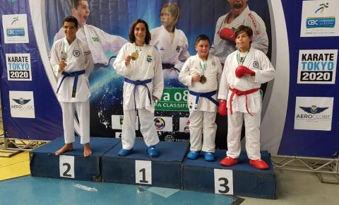 Enzo Bassi conquista medalha de ouro na 1° Fase do Campeonato Brasileiro de Karatê e garante vaga na Seleção Brasileira