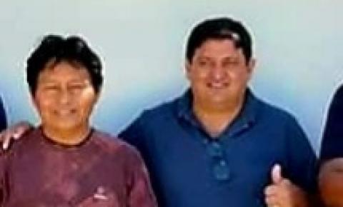 Prefeito Edilsom Manguinha nomeio Cacique Janes como secretário de Assuntos Indígenas.