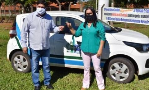 Prefeitura Municipal de Dois Irmãos do Buriti realizou entrega de veiculo 0km e reforma de UBS no Assentamento Marcos Freire.