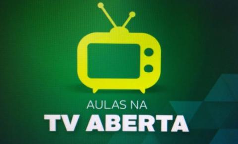 Aulas na TV Aberta: REE inicia transmissão das atividades em canal da TVE