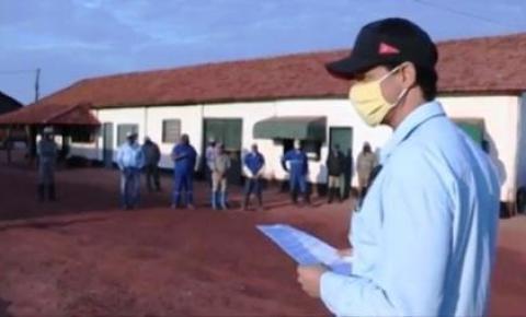 Covid-19 muda rotina em fazenda da Agro-Pecuária CFM no MS