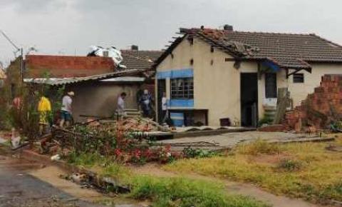Prefeitura concluiu levantamento dos estragos com o vendaval visando decretar situação de emergência