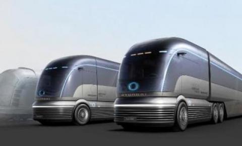 Hyundai exibiu o HDC-6 Neptune durante o 'H2 Mobility Energy Show 2020'