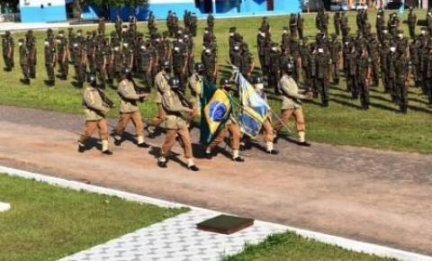 Dia do Soldado é marcado pela incorporação de novos recrutas em Aquidauana