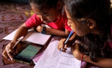 Unicef: 463 milhões de crianças não conseguiram acesso remoto às aulas