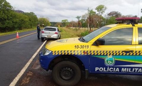Polícia Militar Rodoviária intensifica fiscalização nas rodovias estaduais durante o feriado