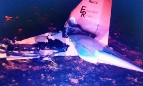 Aeronave que transportava cocaína cai no interior de SP; piloto morre no local