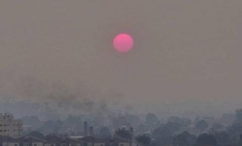 Névoa de fumaça em Dois Irmãos do Buriti e Região pode ser de queimadas no Pantanal, diz Defesa Civil