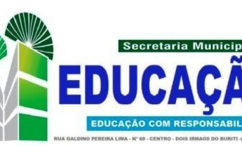 Prefeitura Municipal de Dois Irmãos do Buriti através da Secretaria de Educação