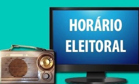 Propaganda eleitoral gratuita no rádio e na TV começa nesta sexta