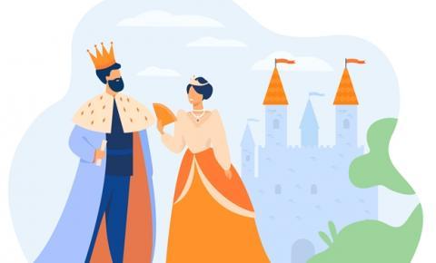 Histórias de reis e rainhas fazem parte do imaginário popular