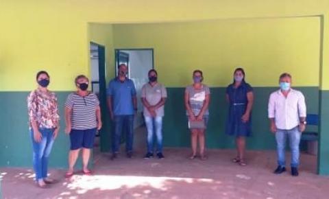A Pedido do Secretario Eder a Equipe da Educação Especial esteve no Assentamento Marcos Freire em reunião