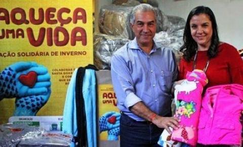 Governo lança 6° campanha do agasalho Aqueça Uma Vida nesta quinta-feira