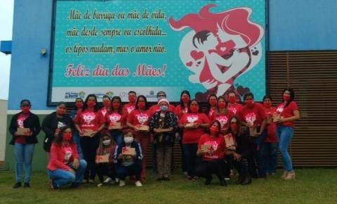 Secretaria de Assistência Social teve início a entrega das lembrancinhas em comemoração ao dia das mães