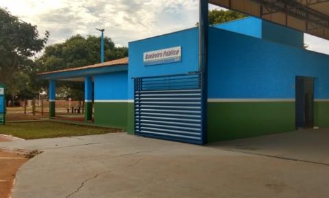 Prefeitura de Dois Irmãos libera uso do novo banheiro público na sede do Município
