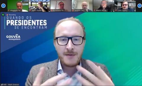 """Professor do IMD, Mark Greeven, debate sobre """"Ecossistemas de Negócios"""" com empresários do mercado de consumo e varejo brasileiro"""