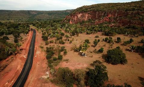Estrada Ecológica ganha asfalto em último trecho entre os municípios de Aquidauana e Dois Irmãos