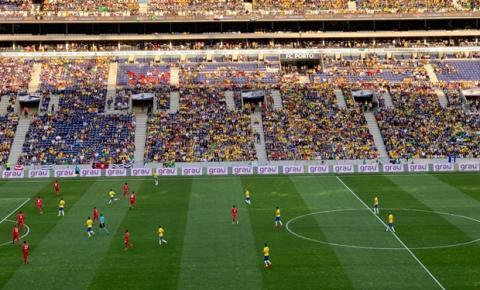 Rede Grau Técnico terá espaço publicitário em jogos do Brasil nas Eliminatórias