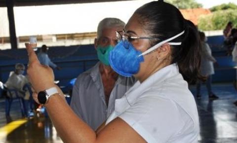 Secretaria Municipal de Saúde  - Senha para vacina hoje