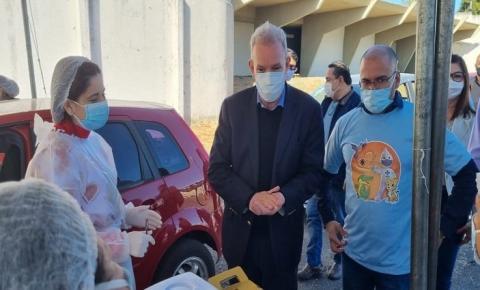 MS faz história e inicia imunização da população em 13 municípios da região de fronteira