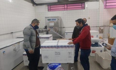 Secretaria de Estado de Saúde repassa para os 66 municípios 20 mil doses remanescentes da vacina Janssen