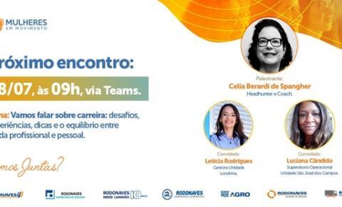 Programa lançado pelo Grupo Rodonaves colabora com a evolução das mulheres