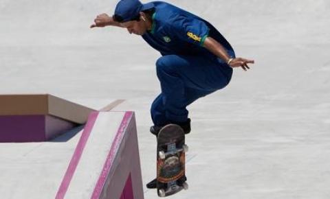 Prazer, Olimpíadas! Skate estreia com primeira medalha para o Brasil