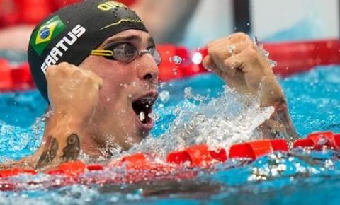 Natação: Bruno Fratus confirma expectativa e leva o bronze nos 50m livre