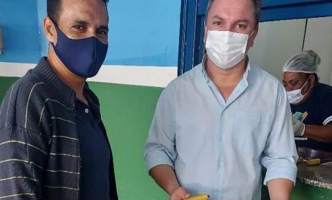 Secretário de Educação visita na Escola Municipal Felícia E. K. Sakitan