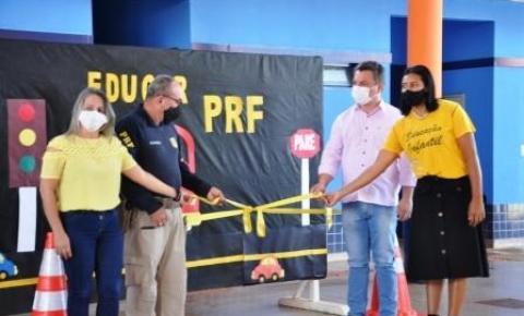 PRF lança Projeto Educar em Dois Irmãos do Buriti