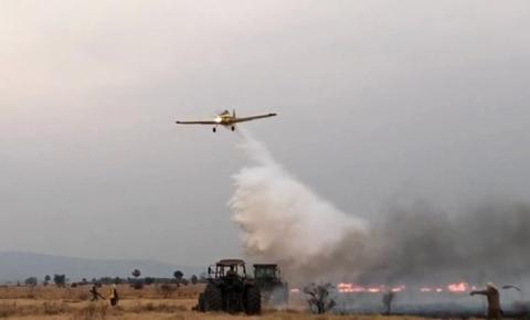 Bombeiros reforçam combate aos incêndios no Pantanal, Bela Vista e região Leste