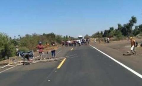 Indígenas interditam dez pontos em rodovias de MS contra marco temporal